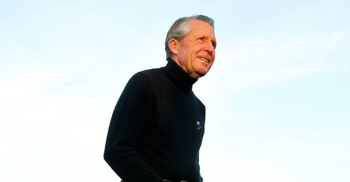 Gary Player at the Masters last year