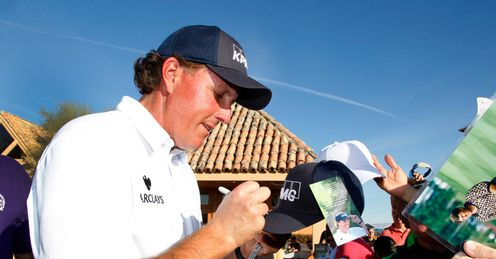 Mickelson: A popular figure in Phoenix this week