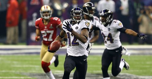 Jones: Gives Ravens the perfect start to the second half