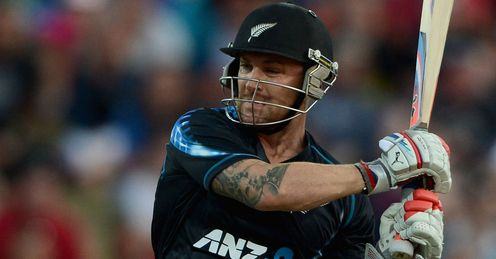 Brendon McCullum New Zealand v England T20