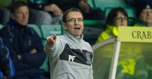 Pat Fenlon: Disappointing season for Hibs