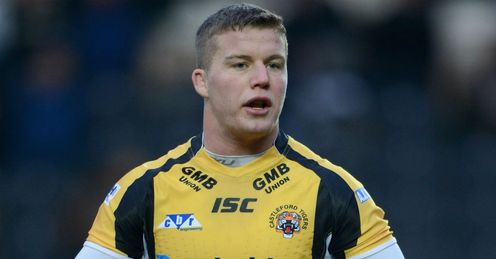 Adam Milner Castleford Tigers