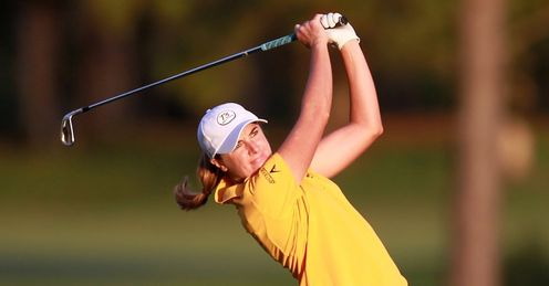 Alison Walshe: First-round lead