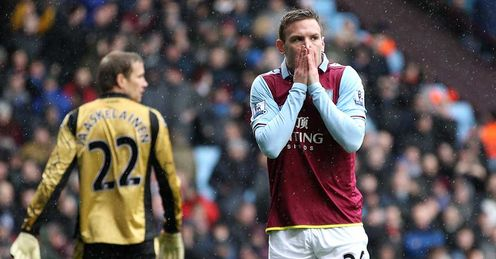 Villa: Have endured a tough season in the Premier League