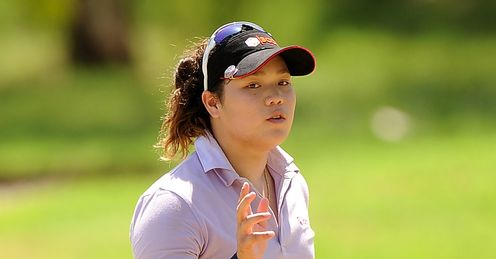 Ariya Jutanugarn: First round leader