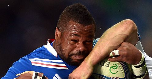 Mathieu Bastareaud - France Six Nations
