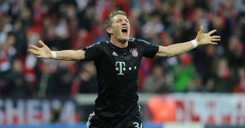 Schweinsteiger: Bayern's midfield general has spent his entire career with the club