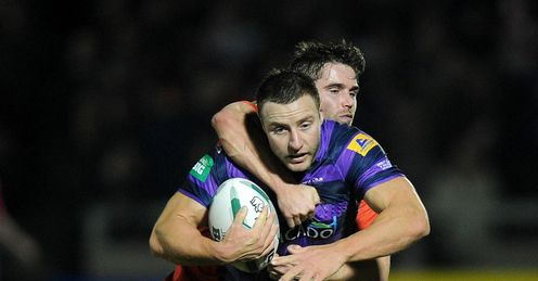 Blake Green Tackled Salford