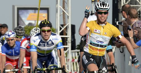 Mark Cavendish Tour of Qatar 2013 stage five