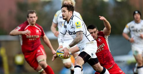 Danny Cipriani of Sale Sharks