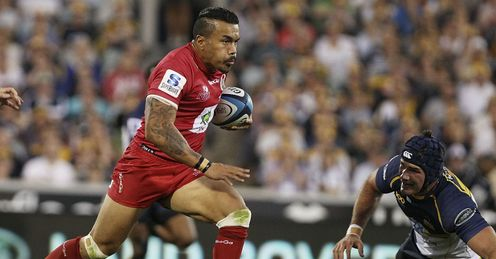 Digby Ioane Reds Super Rugby
