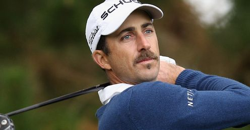 Geoff Ogilvy: Unhappy golfer