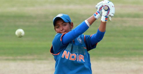 Harmanpreet Kaur India July 2012