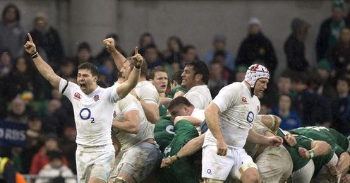 Ben Youngs celebrates a well deserved victory