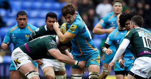 James Cannon tackled Wasps Aviva Premiership