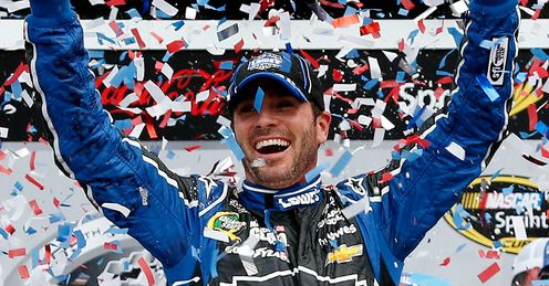 Jimmie Johnson: won six consecutive titles