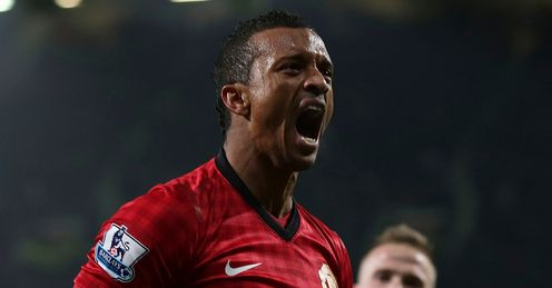 Manchester United v Reading Nani celeb