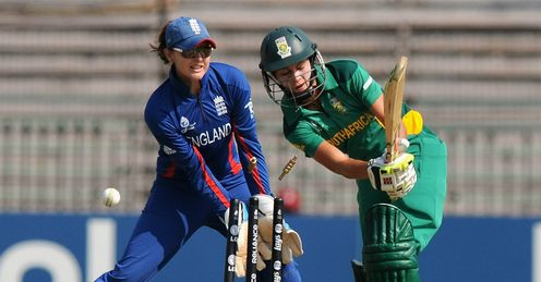 Marizanne Kapp bowled by Anya Shrubsole England v South Africa