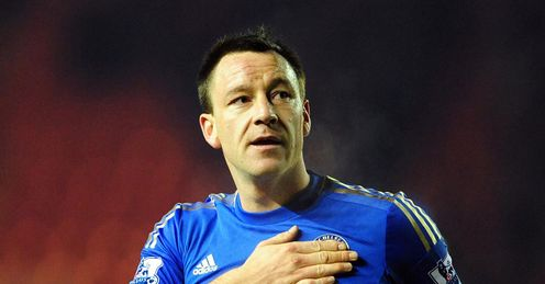 Middlesbrough v Chelsea John Terry final whistle