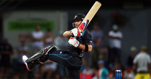 New Zealand v England Brendon McCullum