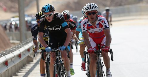 Froome & Rodriguez: battled it out on Green Mountain