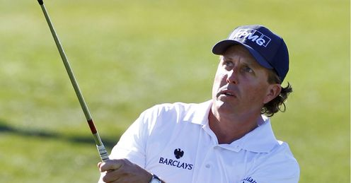 Mickelson: will be looking for his fourth Green Jacket at April's Masters