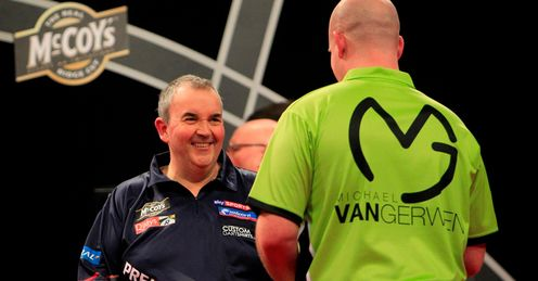 Taylor & Van Gerwen: in the hunt for glory