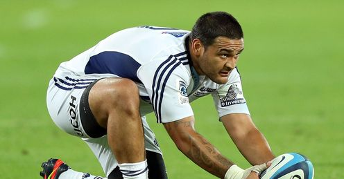 Piri Weepu Blues Super Rugby