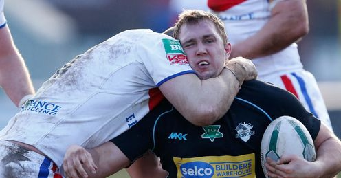 The shoulder charge may at times be dangerous, but what about the high tackle?