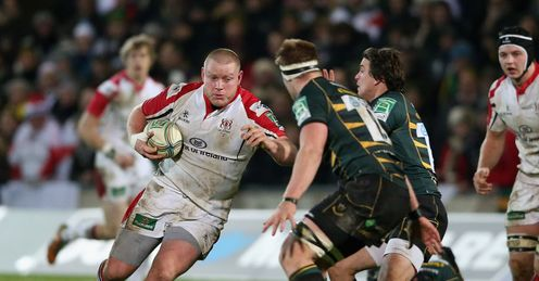 Tom Court on a run for Ulster