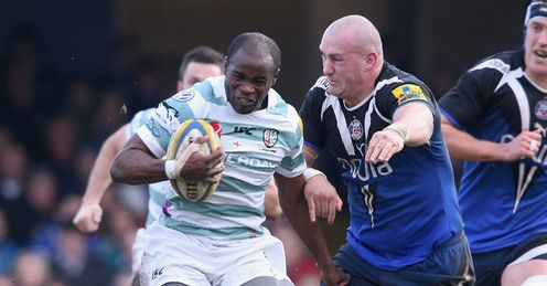 Topsy Ojo Carl Fearns Bath v London Irish