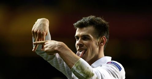 Bale: Has been grabbing the headlines in recent weeks