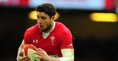 Alex Cuthbert try Wales v Ireland