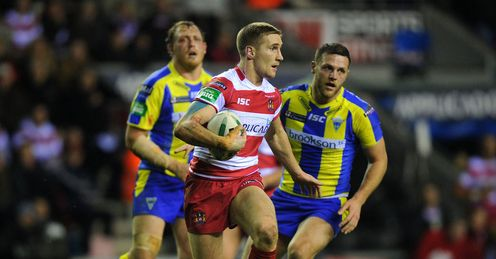 Tomkins: released by Wigan when he was 16
