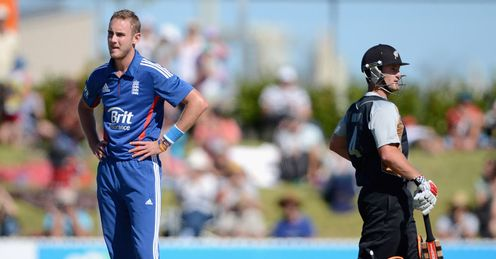broad stuart england v new zealand XI warm-up