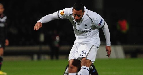 Mousa Dembele goal Tottenham Lyon Europa League last 32 second leg