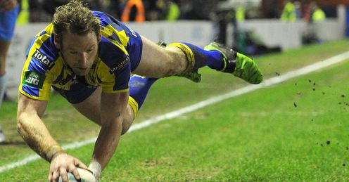 Joel Monaghan Warrington Wolves v Catalan Dragons Super League