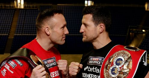 Kessler and Froch: will go head-to-head in an intriguing contest