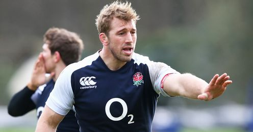 Chris Robshaw: a fine open-side, says Stuart, but he can't win a breakdown on his own