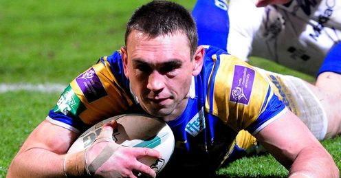 Kevin Sinfield Leeds v Salford Super League