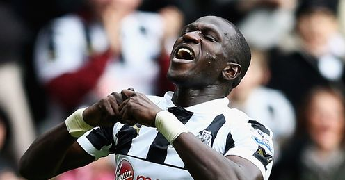 Moussa Sissoko: scored twice in Newcastle's 3-2 victory over Chelsea