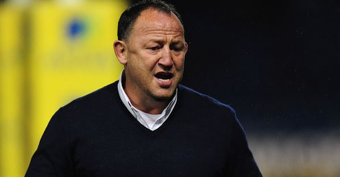 Steve Diamond: safe in the top-flight for another season