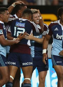 Blues v Crusaders Super Rugby Round 3 2013