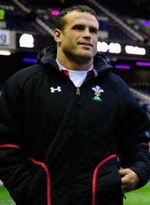 Jamie Roberts Scotland v Wales 2013