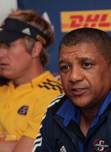 Allister Coetzee answering a question