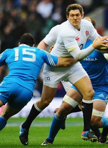 Andrea Masi Alex Goode England v Italy