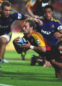 Andrew Horrell Chiefs v Highlanders SR 2013