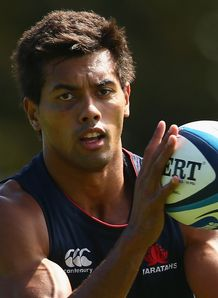 Ben Volavola Waratahs training 2013