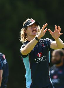 Berrick Barnes Waratahs training session 2013