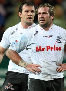 Bismarck and Jannie du Plessis